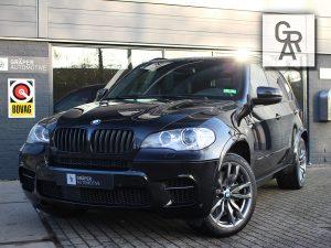 BMW X5 M50 D zwart leder 2012