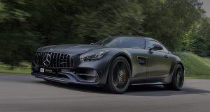 Mercedes-Benz AMG GT 4.0 V8 grijs 2015
