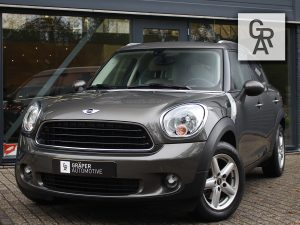 Mini Countryman One Grijs Leder 2011