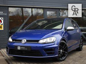 Volkswagen Golf-R 2.0 TSI Blauw 2016